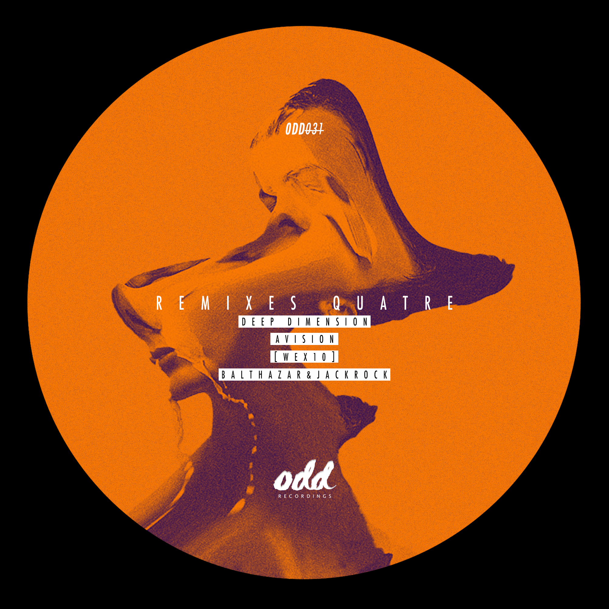 ODD031 - Various - Remixes Quatre