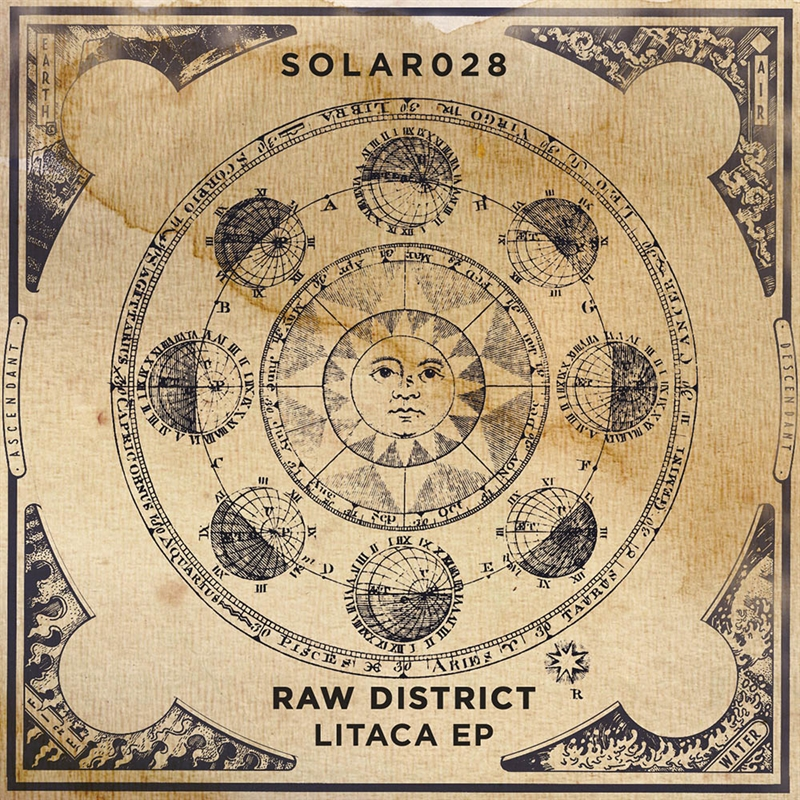 SOLAR028 - Raw District - Litaca EP